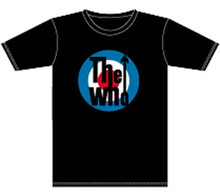 The Who Target Logo Men's Black T-shirt