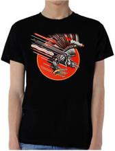 Judas Priest Screaming for Vengeance Album Cover Artwork Men's Black T-shirt