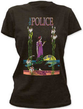 The Police Reunion Tour Saturday June 2 Commonwealth Stadium Edomonton, Alberta, Canada Concert Women's Black T-shirt