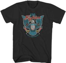 Foo Fighters July 4, 2015 at RFK Stadium in Washington, D.C. 20th Anniversary Concert Men's Black T-shirt