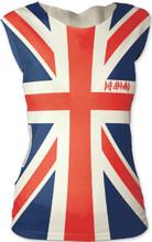 Def Leppard Union Jack British Flag Logo Women's Sleeveless T-shirt