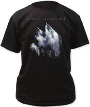 Genesis Seconds Out Album Cover Artwork Men's Black T-shirt