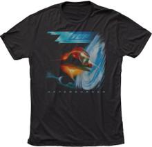 ZZ Top Afterburner Album Cover Artwork Men's Black T-shirt
