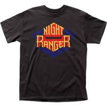 Night Ranger Logo Men's Black T-shirt