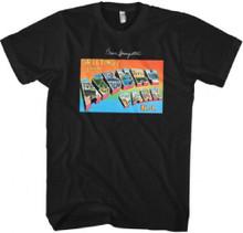 Bruce Springsteen Greetings from Asbury Park N.J. Debut Album Cover Artwork Men's Black T-shirt