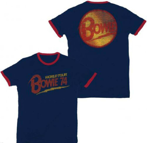 David Bowie Womens T Shirt