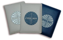 Pan Am Originals Passport Cover With Pan Am Airlines Classic Logo - Front