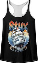 Styx US Tour 1977 Women's Tank Top Concert T-shirt