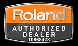 Roland Authorized Dealer Badge T086842X