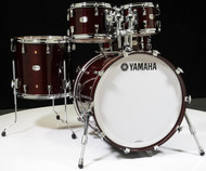 Yamaha Absolute Maple Hybrid 5pc 10/12/16/22/14SD Classic Walnut - Front