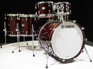 Yamaha Absolute Maple Hybrid 6pc 10/12/14/16/22/14SD Classic Walnut - Front