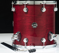 DW Performance Series 14x14 Floor Tom - Cherry Stain