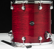 DW Performance Series 16x16 Floor Tom - Cherry Stain