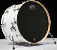 DW Performance Series 14x24 Bass Drum White Marine