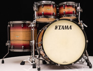 Tama Starclassic Maple Exotix 4pc Shell Pack Ruby Pacific Walnut Burst