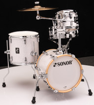 Sonor AQ2 Maple Martini Kit 4pc Shell Pack - White Pearl