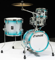 Sonor AQ2 Maple Martini Kit 4pc Shell Pack - Aqua Silver Burst