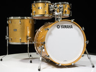Yamaha Absolute Maple Hybrid 4pc 10/12/16/22 Gold Champagne Sparkle