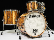 Sonor SQ2 4pc Shell Pack - African Marble 10/12/16/22