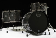 Mapex Saturn V Exotic Shell 5pc Studioease - Flat Black Maple Burl