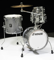 Sonor AQ2 Maple Martini Kit 4pc Shell Pack - Titanium Quartz Lacquer