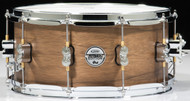 PDP Limited Edition Maple/Walnut 6.5x14 Snare - Natural Satin
