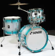 Sonor AQ2 Maple Bop Kit 4pc Shell Pack - Aqua Silver Burst Lacquer
