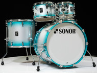 Sonor AQ2 Maple Stage 5pc Shell Pack  - Aqua Silver Burst Lacquer