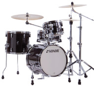Sonor AQ2 Safari Drum Set - Transparent Black