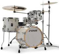 Sonor AQ2 Safari Drum Set - White Pearl