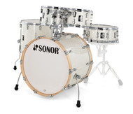 Sonor AQ2 Maple Studio Kit 5pc Shell Pack - White Pearl