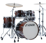 Sonor AQ2 Maple Studio Kit 5pc Shell Pack - Brown Fade