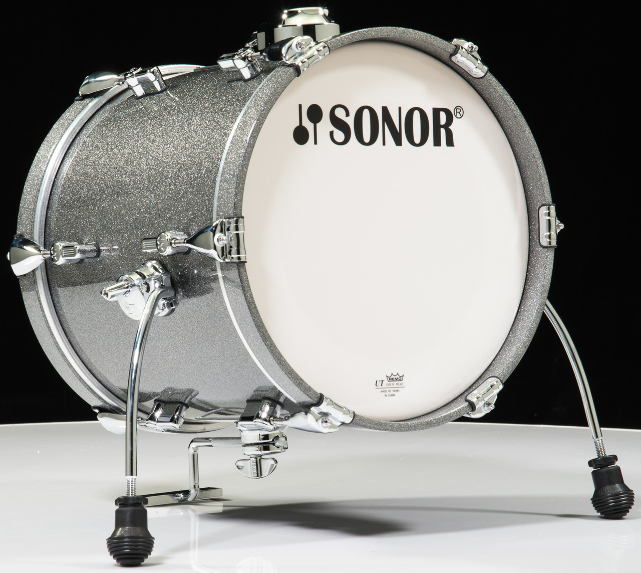 sonor aq2 14x13 bass drum titanium quartz lacquer. Black Bedroom Furniture Sets. Home Design Ideas