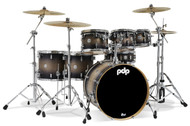 PDP Concept Maple 7pc Shell Pack - Satin Charcoal Burst