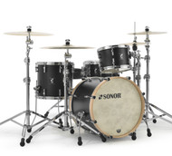 "Sonor SQ1 20"" 4-piece Shell Pack - GT Black Free Snare"