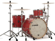 "Sonor SQ1 20"" 3-piece Shell Pack Hot Rod Red"