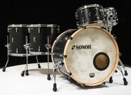 "Sonor SQ1 22"" 6-piece Shell Pack - GT Black Free Snare"