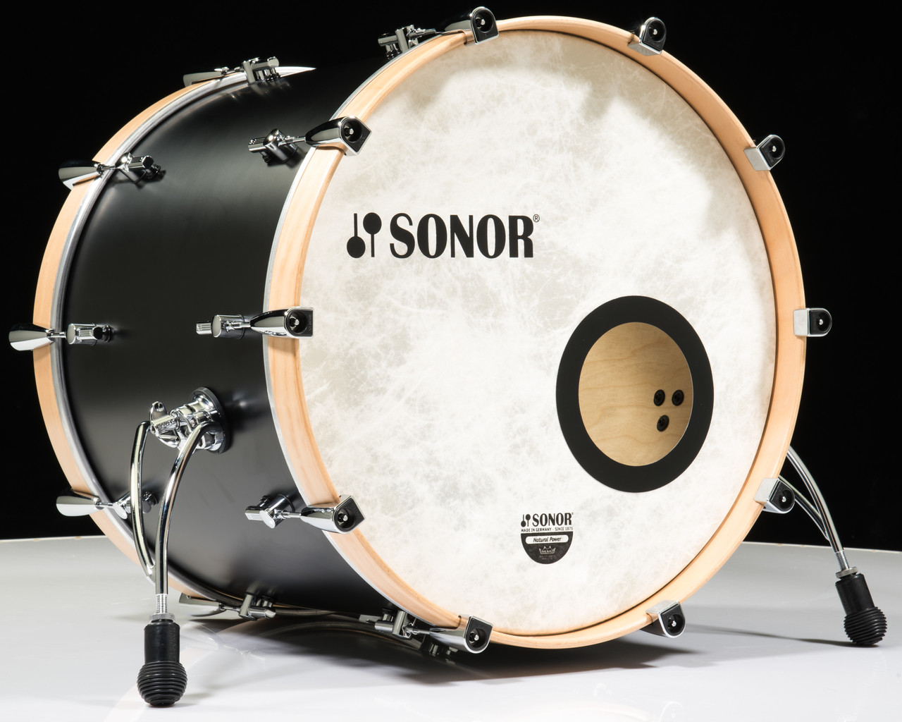 Sonor Sq1 22 Quot 4 Piece Shell Pack Gt Black