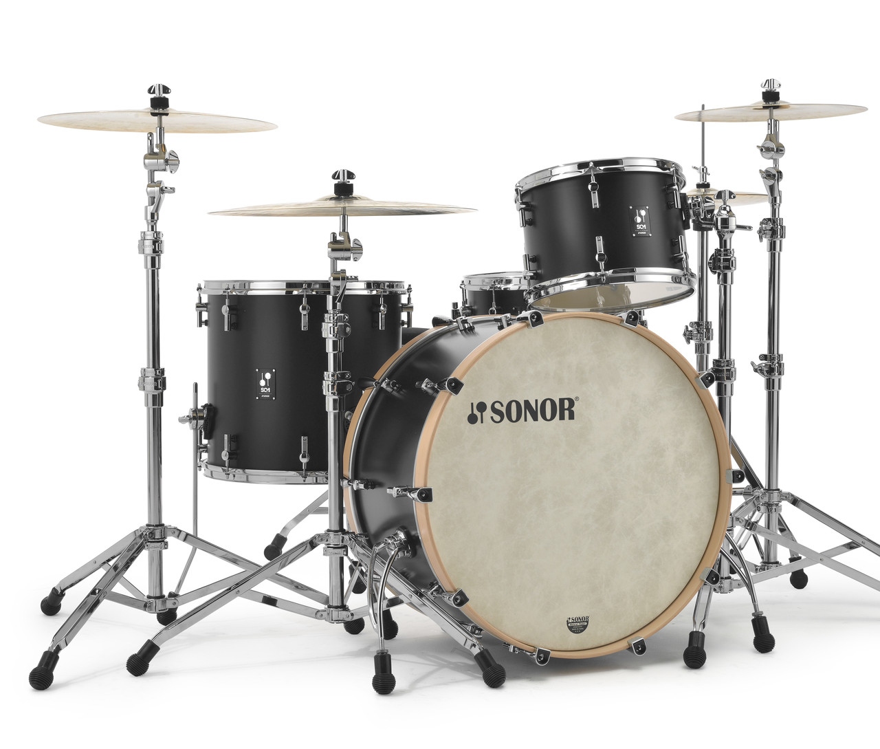 Sonor Sq1 24 Quot 4 Piece Shell Pack Gt Black