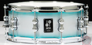 Sonor AQ2 Maple 13x6 Snare Drum - Aqua Silver Burst