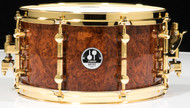 "Sonor Artist Series 13"" X 7'' Natural Amboina Snare Drum"