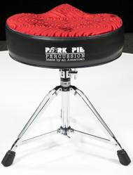 Pork Pie Big Boy Throne Black / Red Swirl