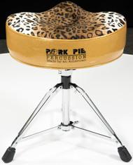 Pork Pie Big Boy Throne Gold/ Leopard