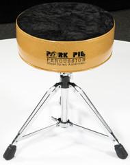 Pork Pie Star Round Throne Gold with /Black Crush