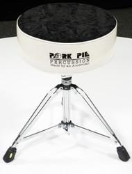 Pork Pie Star Round Throne Silver with /Black Crush