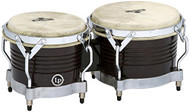 LP Matador Wood Bongos Black Chrome