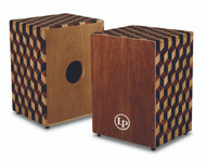 LP Peruvian Solid Wood Brick Cajon W Bag