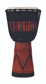 LP World Beat Wood Art Medium Djembe Black