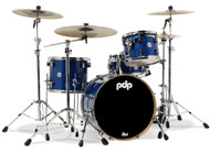 PDP Concept Maple 4pc Shell Pack Blue Sparkle