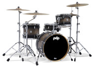 PDP Concept Maple 4pc Shell Pack Satin Charcoal Burst